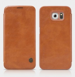 Чехол Nillkin Qin Leather Case для Samsung Galaxy S6 SM-G920 Brown (коричневый)