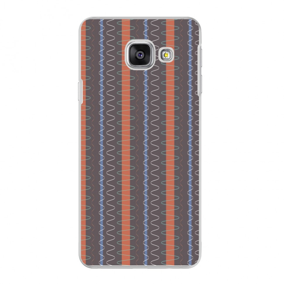 Накладка Deppa Art Case для Samsung Galaxy A3 (2016) A310 Pattern Series Волны