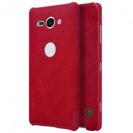 Чехол Nillkin Qin Leather Case для Sony Xperia XZ2 Compact Red (красный)