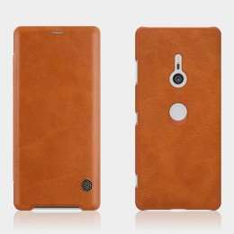 Чехол Nillkin Qin Leather Case для Sony Xperia XZ3 Brown (коричневый)