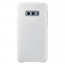 Накладка Samsung Leather Cover для Samsung Galaxy S10e SM-G970 EF-VG970LWEGRU белая