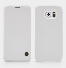 Чехол Nillkin Qin Leather Case для Samsung Galaxy S6 SM-G920 White (белый)