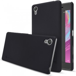 Накладка Nillkin Frosted Shield пластиковая для Sony Xperia X Performance Black (черная)