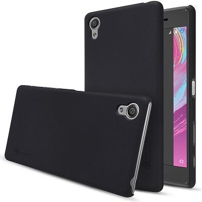 Накладка Nillkin Frosted Shield пластиковая для Sony Xperia X Perfomance Black (черная)