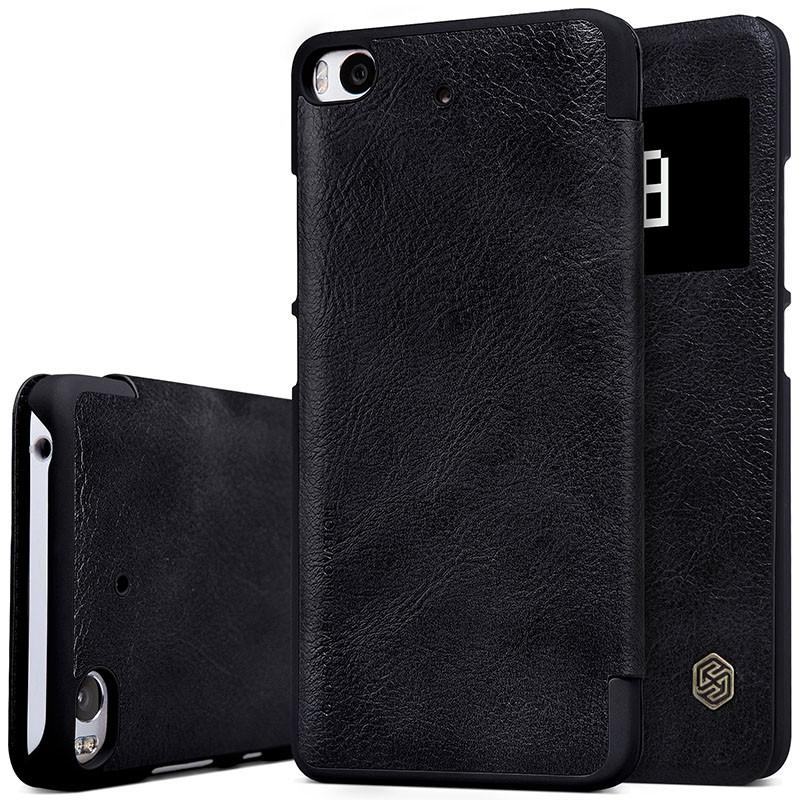 "Чехол Nillkin Qin Leather Case для Xiaomi Mi5S (5.15"") Black (черный)"