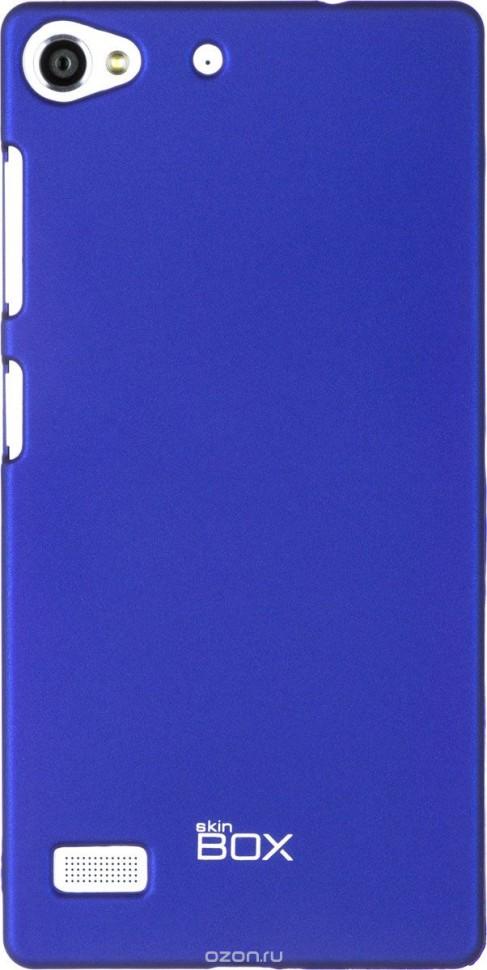Накладка Skinbox 4People пластиковая для Lenovo Vibe X2 синяя
