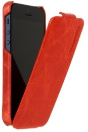 Чехол Borofone General flip Leather case Red для iPhone 5