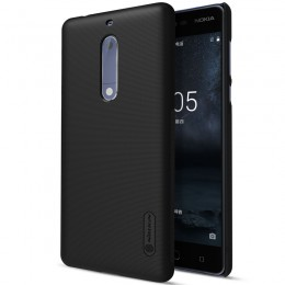 Накладка Nillkin Frosted Shield пластиковая для Nokia 5 Black (черная)