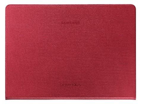 Чехол Simple Cover EF-DT800B для Samsung Galaxy Tab S 10.5 SM-T805/800 красный