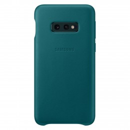 Накладка Samsung Leather Cover для Samsung Galaxy S10e SM-G970 EF-VG970LGEGRU зеленая