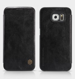 Чехол Nillkin Qin Leather Case для Samsung Galaxy S6 SM-G920 Black (черный)