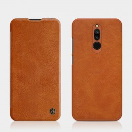 Чехол Nillkin Qin Leather Case для Xiaomi Redmi 8 Brown (коричневый)