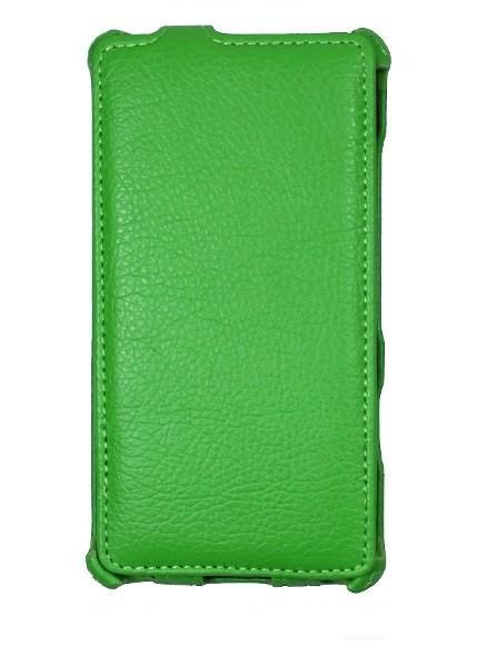 Чехол для Lenovo A806 зеленый