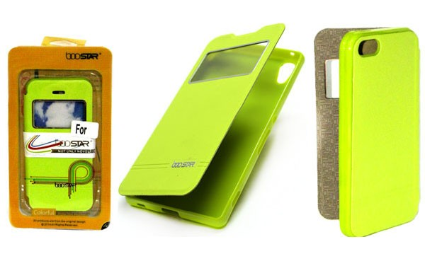 Чехол Boostar для Lenovo K3 Lemon (A6000) зеленый