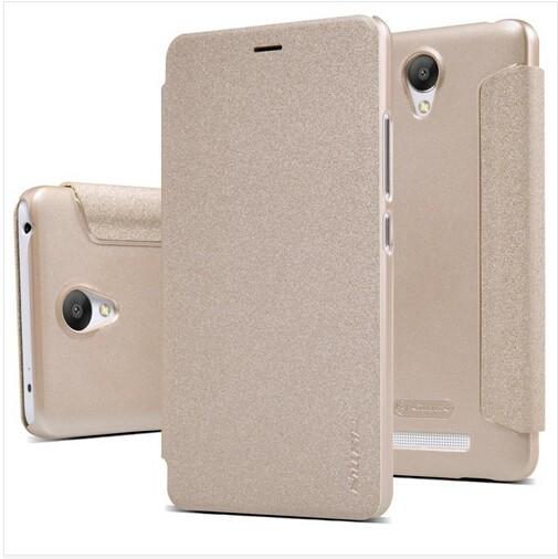 Чехол Nillkin Sparkle Series для Xiaomi Redmi Note 2 Gold (золотой)
