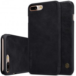 Чехол Nillkin Qin Leather Case для Apple iPhone 7 Plus Black (черный)