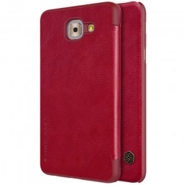 Чехол Nillkin Qin Leather Case для Samsung Galaxy J7 Max G615 Red (красный)