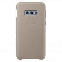 Накладка Samsung Leather Cover для Samsung Galaxy S10e SM-G970 EF-VG970LJEGRU серая