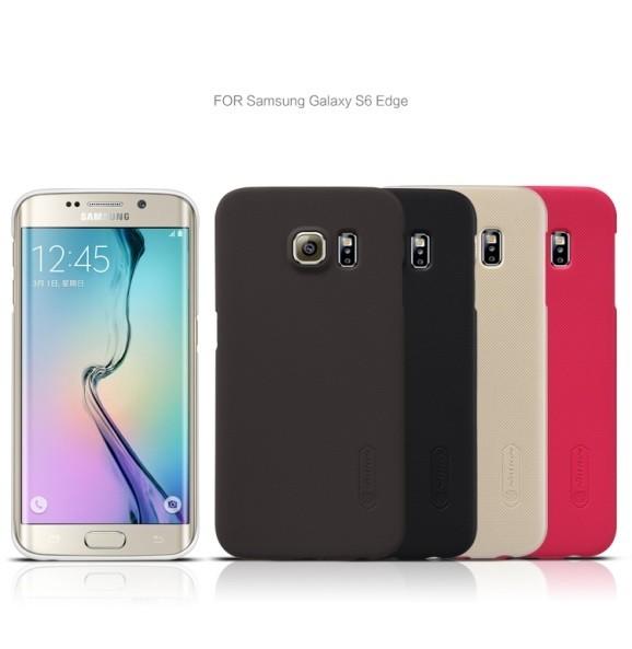 Накладка Nillkin Frosted Shield пластиковая для Samsung Galaxy S6 Edge SM-G925 белая