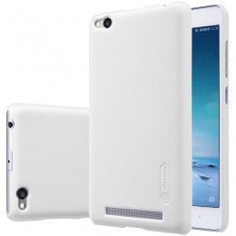Накладка Nillkin Frosted Shield пластиковая для Xiaomi Redmi 3 White (белая)