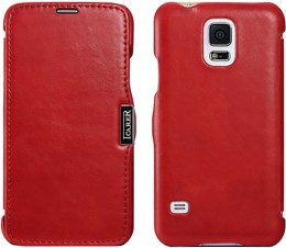 Чехол iCarer для Samsung Galaxy S5 G900 Red (красный)