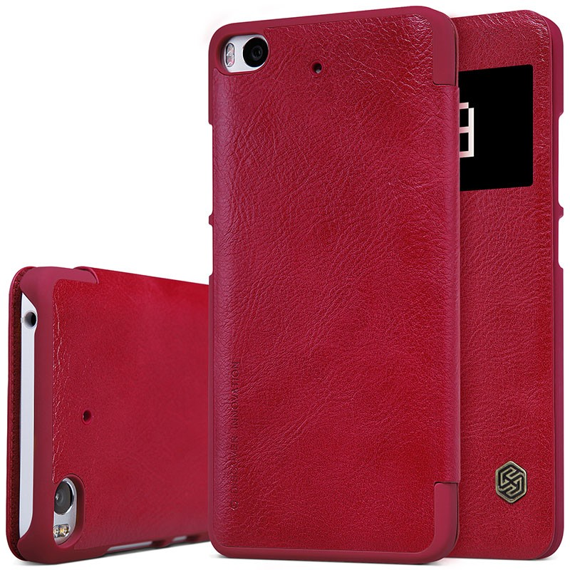 "Чехол Nillkin Qin Leather Case для Xiaomi Mi5S (5.15"") Red (красный)"