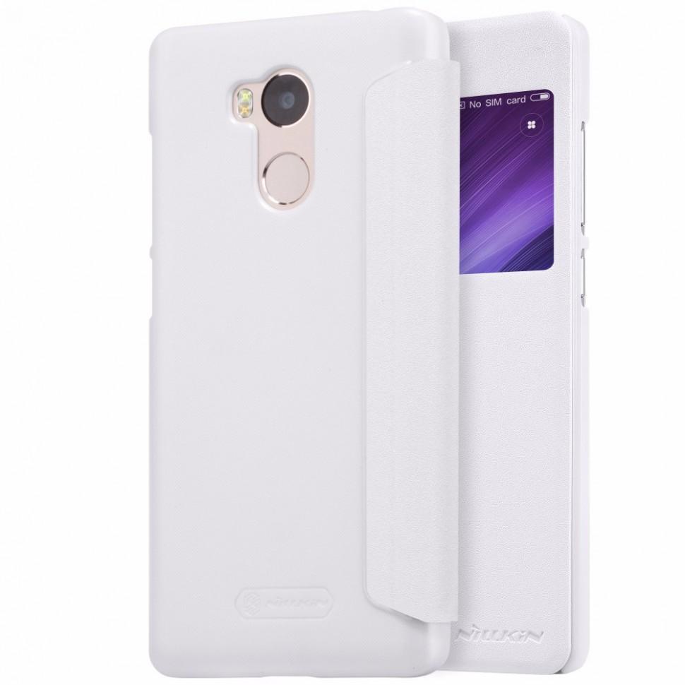 Чехол Nillkin Sparkle Series для Xiaomi Redmi 4 Pro (32Gb) White (белый)