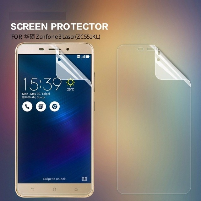 Пленка защитная для Asus Zenfone 3 Laser ZC551KL глянцевая