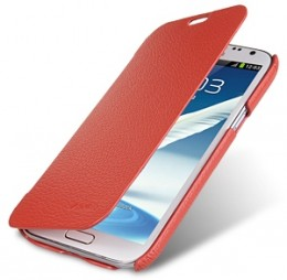 Чехол-книжка Melkco для Samsung Galaxy Note II N7100 Red