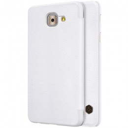 Чехол Nillkin Qin Leather Case для Samsung Galaxy J7 Max G615 White (белый)