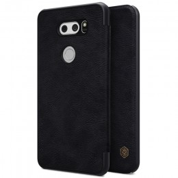 Чехол Nillkin Qin Leather Case для LG V30 Black (черный)