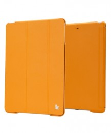 Чехол Jisoncase Executive для iPad 5 Air желтый