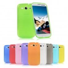 Накладка силиконовая для Samsung GALAXY Win i8552 фиолетовая