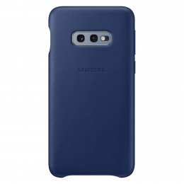 Накладка Samsung Leather Cover для Samsung Galaxy S10e SM-G970 EF-VG970LNEGRU синяя