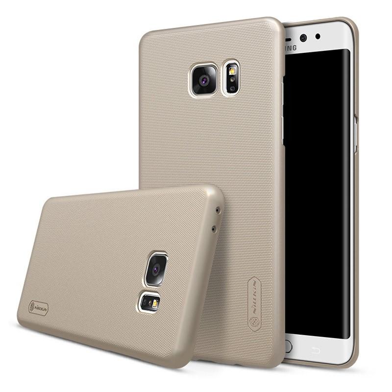Накладка Nillkin Frosted Shield пластиковая для Samsung Galaxy Note 7 N930 Gold (золотая)