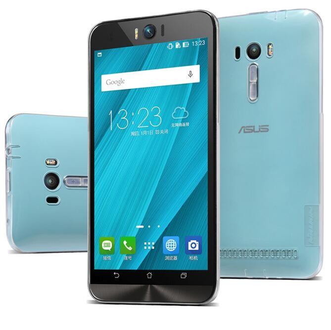 Накладка Nillkin Nature TPU Case силиконовая для Asus Zenfone Selfie ZD551KL прозрачно-белая