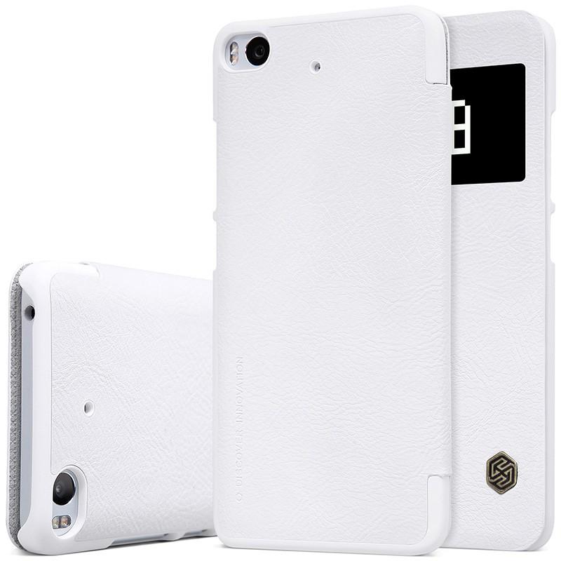 "Чехол Nillkin Qin Leather Case для Xiaomi Mi5S (5.15"") White (белый)"