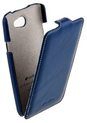 Чехол Melkco для HTC One X Dark Blue