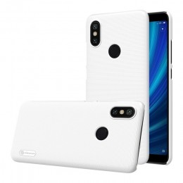 Накладка Nillkin Frosted Shield пластиковая для Xiaomi Mi6X / MiA2 White (белая)