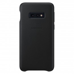 Накладка Samsung Leather Cover для Samsung Galaxy S10e SM-G970 EF-VG970LBEGRU черная