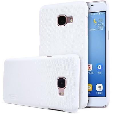 Накладка Nillkin Frosted Shield пластиковая для Samsung Galaxy C5 (C5000) White (белая)