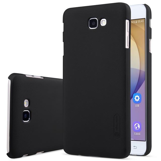 Накладка Nillkin Frosted Shield пластиковая для Samsung Galaxy J7 Prime (G610/On7 (2016)) Black (черная)