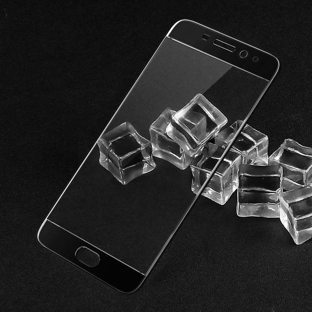 Защитное стекло для Meizu M5 Note полноэкранное черное