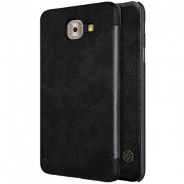 Чехол Nillkin Qin Leather Case для Samsung Galaxy J7 Max G615 Black (черный)