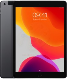 Планшет Apple iPad (2019) 32Gb Wi-Fi + Cellular Space gray (MW6A2RU/A)