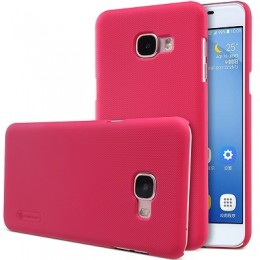 Накладка Nillkin Frosted Shield пластиковая для Samsung Galaxy C5 (C5000) Red (красная)