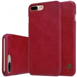 Чехол Nillkin Qin Leather Case для Apple iPhone 7 Plus Red (красный)