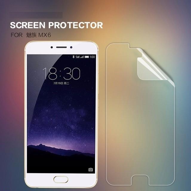 Пленка защитная для Meizu MX6 глянцевая