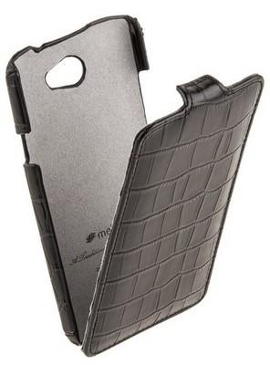 Чехол Melkco Crocodile для HTC One X Black