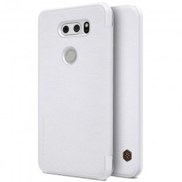 Чехол Nillkin Qin Leather Case для LG V30 White (белый)